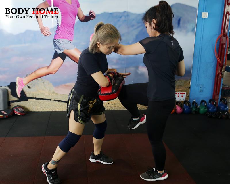 Gói tập kick-boxing
