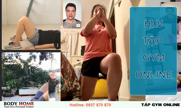 HLV Tập Gym online