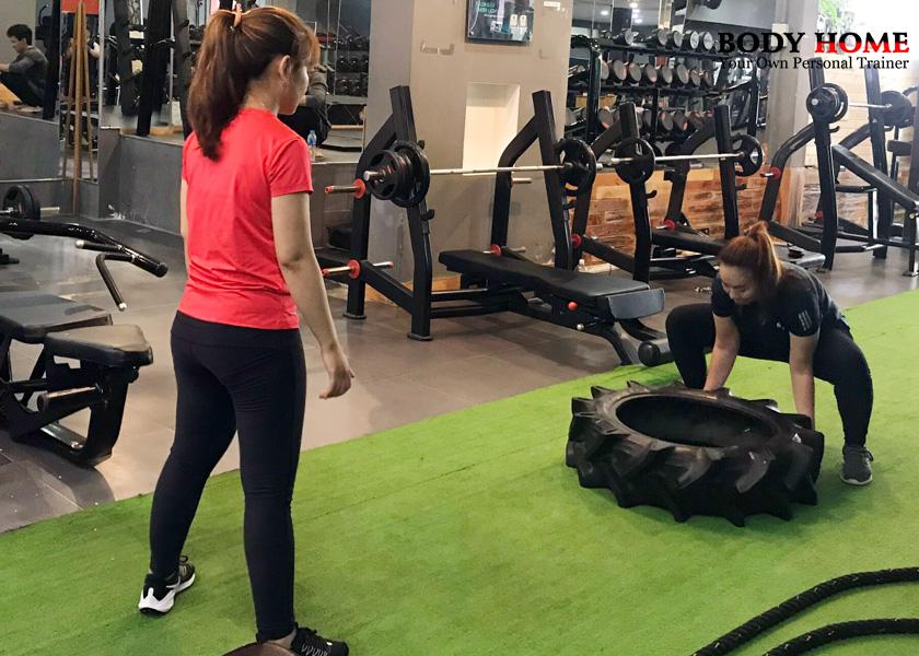 Gói tập giảm cân sau khi sinh thường