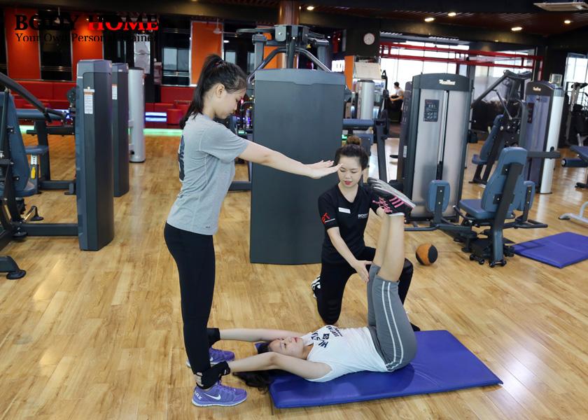 Gói tập giảm mỡ tăng cơ