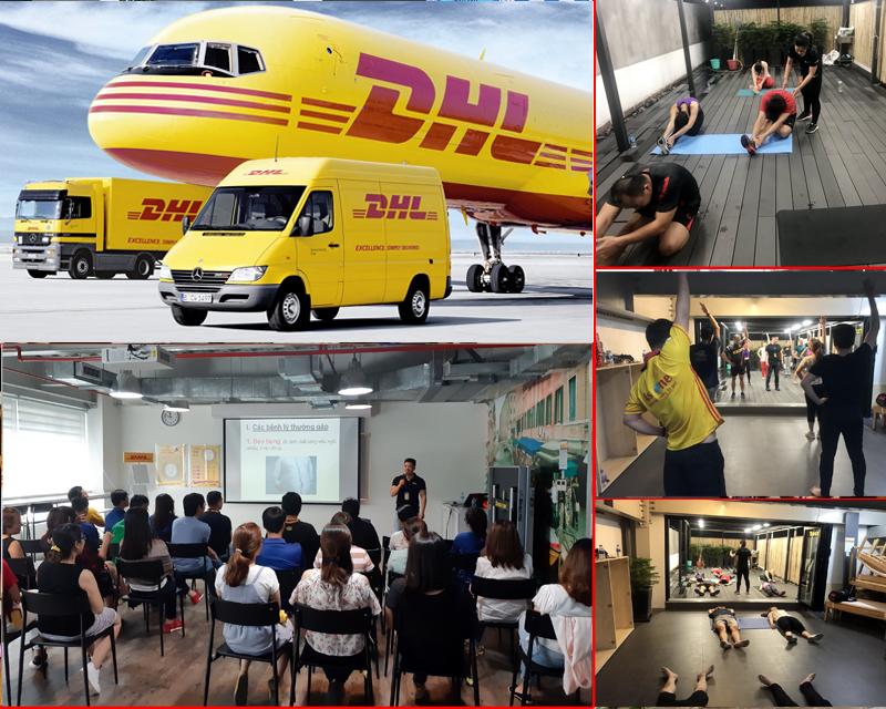 Gói tập tăng cơ giảm mỡ cho NVVP DHL