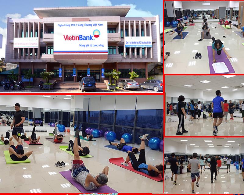 Gói tập duy trì vóc dáng cho NH Vietinbank