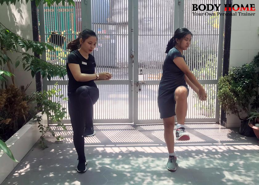 Gói tập giúp trẻ em phát triển thể chất